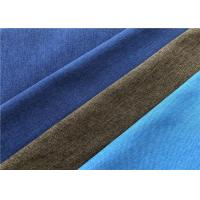 Quality Blue Twill Fade Resistant Outdoor Fabric Good Color Fastness Breathable For for sale