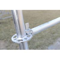 Buy cheap Steel Ringlock Scaffolding for Construction, Q345 Material, HDG Ringlock Scaffolding from wholesalers