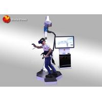Buy cheap Interactive Shooting Game Standing Up 9D VR Walking Platform 1320 * 1060 * from wholesalers