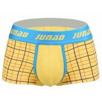 Buy cheap High Stretch Short Trunks Underwear , Low Rise Male Boxers Underwear product