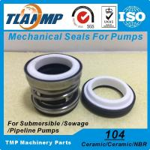 Buy cheap 104-12/14/15/16/17/18/19/20/22/25/30/35/40/45 Water Pump Mechanical Seals (Material: Ceramic/Ceramic/NBR) product