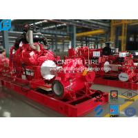 Buy cheap High Precision Centrifugal Fire Pump 1000GPM /145PSI For Storage Warehouses product