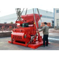 Buy cheap Js Series 500 Litres Concrete Machine Mixer 18.5kw Mixing Motor Power product