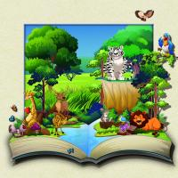 Buy cheap 40 * 40cm Cartoon Poster Custom Lenticular Printing For Gifts And Souvenirs from wholesalers