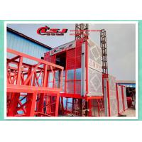 Buy cheap SC200 2000KG 0-34m/min 2*12kw motors capacity Construction elevator product