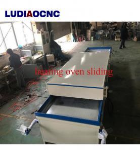 China Cheap price PVC film vacuum hot membrane press machine for Wood cabinet door making on sale