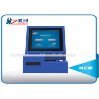 High Brightness Wall Mount Kiosk Card Payment Machine 3G Wireless Internet Connection