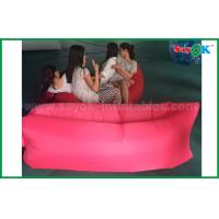 China Lazy Air Self Inflatable Outdoor Sofa Bed Inflatable Couches on sale