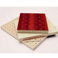 Buy cheap Fireproof Feature Soundproof Material Studio Room Wooden Perforated Acoustic Panel from wholesalers