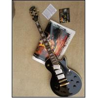 Quality LP Custom Electric Guitar, Mahogany Body, One Piece Neck, Black Beauty, Golden for sale