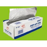 Buy cheap Kitchen Pop Up Aluminum Foil Sheets , Embossed Food Service Aluminum Foil from wholesalers