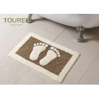 Buy cheap Bulge Big Feet  Icon Many Hotel Bath Mats Homor Design With Polyester Coral product