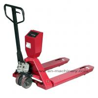 Buy cheap Hand Scissor Lift Pallet Truck with Foldable Hand Pallet Truck for Ware House product