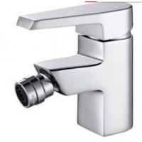 China Automatic Mix Single Hole Bidet Mixer Taps Ceramic , Deck Mounted Fucet on sale