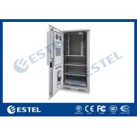 Outdoor Power Cabinet , Outdoor Telecom Cabinet With Water Sensor / Door Sensor