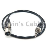 Buy cheap SONY D11 Camera Audio Cable 3.5mm TRS Audio Plug Conversion locking 3.5mm TRS Audio Plug To 3 Pin MINI XLR female product
