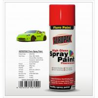 Buy cheap Aeropak  aerosol can 400ml 10oz Fluorescent spray paint with all colors acrylic product