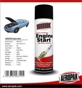 Buy cheap AEROPAK 500ML aerosol spray can gasoline and diesel Engine Starter product
