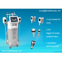 Buy cheap Cryo + RF + Cavitation Velashape Cryolipolysis Fat Freezing Machine 3 Years from wholesalers