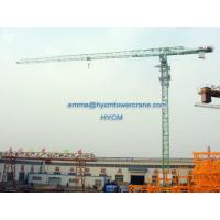 Buy cheap Topless QTP6016 10 ton 60m Work Lifting Jib Specifications Tower Crane from wholesalers