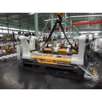 Buy cheap Cardboard Hydraulic Shaftless Mill Roll Stand 50Hz Frequency 1 Year Warranty product