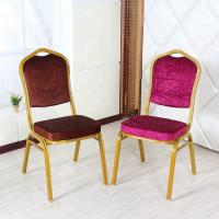Buy cheap High Back Velvet Dining Chairs , Anti Slip Velvet Modern Dining Chairs product
