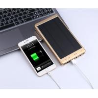 Buy cheap 30000mAh Portable Waterproof Solar Charger Dual Usb External Battery Power Bank product