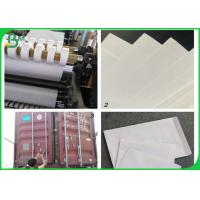 China 100% Wood Pulp 80gsm Woodfree Printing Paper For Making Envelope on sale