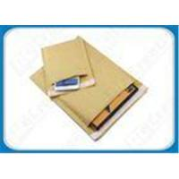Buy cheap Gold / White / Natural Eco-friendly Kraft Bubble Envelopes Padded Mailing Bags For Express product