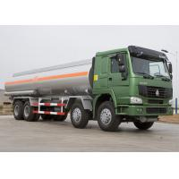 Buy cheap 25 CBM Lpg Tanker Truck , HOWO Four Axles 371HP Fuel Oil Delivery Truck product