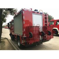 Buy cheap FIAT IVECO 160kW 217hp 2200L / 500L Foam Fire Truck Weight 7800kg from wholesalers