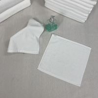 Buy cheap Square Azo Free Plain White Hand Towels product