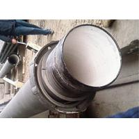 Buy cheap Zinc Spraying Restrained Joint Ductile Iron Pipe K9 Class Cement Lining product