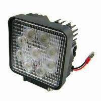 Buy cheap 27W LED Work Light with 6,000K Color Temperature, Measuring 128 x 110 x 55mm product