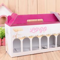 Buy cheap Cardboard Custom Color Printing Boxes With Window For Milk Packaging from wholesalers