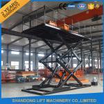 Buy cheap Professional Garage Heavy Duty Hydraulic Scissor Car Lift Elevator 24 Months Warranty product