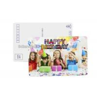 Buy cheap Birthday Card 3D Lenticular Postcard Plastic Material / 3d Animal Pictures product