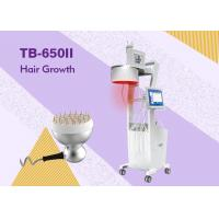 Buy cheap Diode Laser Hair Loss Therapy Laser Hair Growth Machine / Equipmentwith 3 Color LCD product