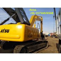 Buy cheap 22 Ton Second Hand Excavator 9750 Mm Max Digging Radius Euro 3 Emission Standard product