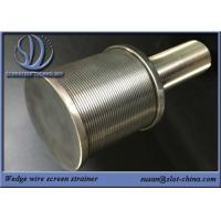 Buy cheap SS High Pressure Water Spray Nozzle Filtration Solid Stream Wedge Wire Screen Filter Nozzle from wholesalers