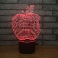 Buy cheap Manufacturer wholesale multicolored USB 3D acrylic led small night light, table from wholesalers