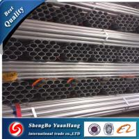 API ERW Round Hot Dipped Galvanized steel pipe/tube