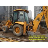 Buy cheap Hydraulic Systems Used Backhoe Loader 25 Km / H Reverse Speed No Oil Leak product