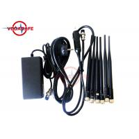 Buy cheap 16W Fixed Indoor Mobile Phone Signal Jammer 50m Coverage Range Easy Operation product