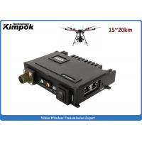 Buy cheap 32 nodes COFDM IP Mesh NLOS Wireless Mobile IP video MESH Networking System product