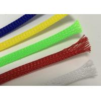 Buy cheap Environmental Braided Wire Sheathing Customized Color For Cable Harness Protection product