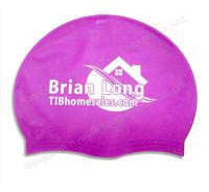 Buy cheap waterproof swim caps and funny bathing cap product