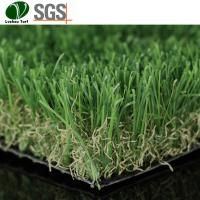 Buy cheap Bending Straight Decorative Artificial Grass product
