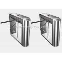 Buy cheap Stainless Steel Tripod Turnstile Gate Rfid Card Reader Turnstiles For Access Control product