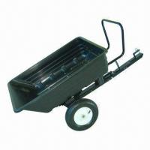 Buy cheap 650lbs Poly Dump Cart product